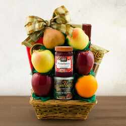 Tel Aviv Fruit Basket from Brennan's Florist and Fine Gifts in Jersey City
