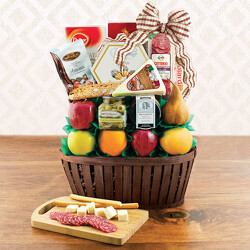 The Firenze Fruit Basket from Brennan's Florist and Fine Gifts in Jersey City