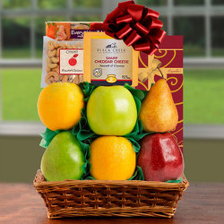 Splendid Sugar Free & Fresh Fruit Basket from Brennan's Florist and Fine Gifts in Jersey City