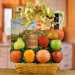 Delicious Sugar Free & Fresh Fruit Gift Basket from Brennan's Florist and Fine Gifts in Jersey City