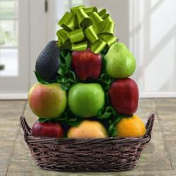 All Fruit Basket-KP from Brennan's Florist and Fine Gifts in Jersey City