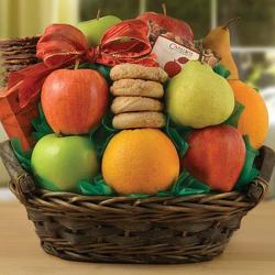 Fairfax Fruit Basket from Brennan's Florist and Fine Gifts in Jersey City