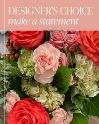 Designer's Choice - Make a Statement from Brennan's Florist and Fine Gifts in Jersey City