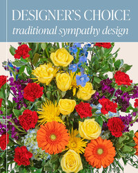 Designer's Choice - Traditional Sympathy Design from Brennan's Florist and Fine Gifts in Jersey City