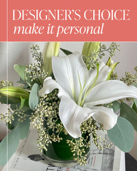 Designer's Choice - Make it Personal from Brennan's Florist and Fine Gifts in Jersey City