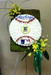 FERRIS HIGH SCHOOL BASEBALL CUSTOM DESIGN from Brennan's Florist and Fine Gifts in Jersey City