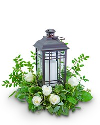 Signature Rustic Rose Lantern from Brennan's Florist and Fine Gifts in Jersey City