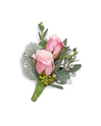 Glossy Boutonniere from Brennan's Florist and Fine Gifts in Jersey City