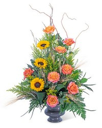 Sunset Solstice Urn from Brennan's Florist and Fine Gifts in Jersey City
