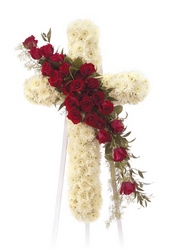 Cross of Faith from Brennan's Florist and Fine Gifts in Jersey City