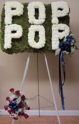 Pop Pop Custom Design from Brennan's Florist and Fine Gifts in Jersey City
