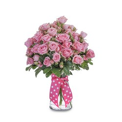 Pink Twinkledotted  from Brennan's Florist and Fine Gifts in Jersey City
