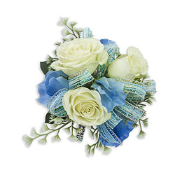 Caribbean Wrist Corsage from Brennan's Florist and Fine Gifts in Jersey City