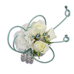 French Quarter Wrist Corsage from Brennan's Florist and Fine Gifts in Jersey City