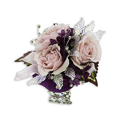 Shimmer Wrist Corsage from Brennan's Florist and Fine Gifts in Jersey City