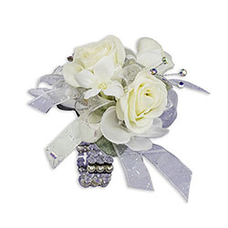 Simple Elegance Wrist Corsage from Brennan's Florist and Fine Gifts in Jersey City