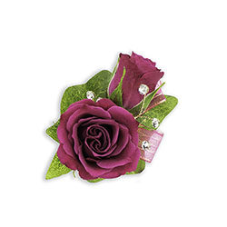 Fuchsia Boutonniere from Brennan's Florist and Fine Gifts in Jersey City
