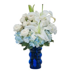 Groovy in Blue from Brennan's Florist and Fine Gifts in Jersey City