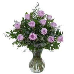 Lovely Lavender Roses from Brennan's Florist and Fine Gifts in Jersey City