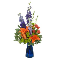 Cheer the Blues from Brennan's Florist and Fine Gifts in Jersey City