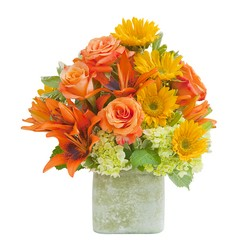 Textured Sunset Vase from Brennan's Florist and Fine Gifts in Jersey City