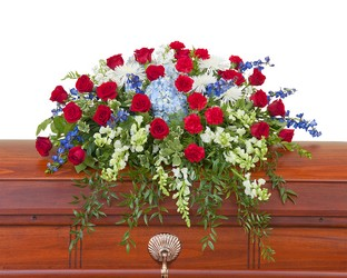 Honor Casket Spray from Brennan's Florist and Fine Gifts in Jersey City