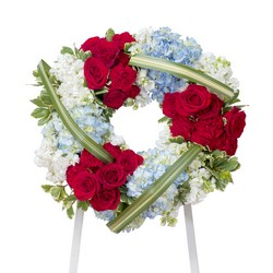 Honor Wreath from Brennan's Florist and Fine Gifts in Jersey City