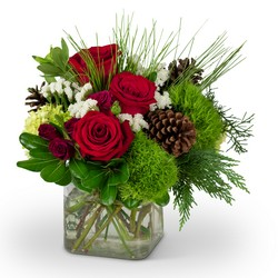 Wintertime Beauty from Brennan's Florist and Fine Gifts in Jersey City