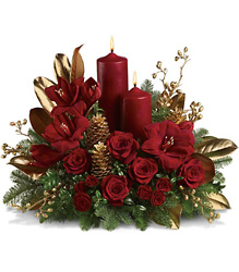 Candlelit Christmas from Brennan's Florist and Fine Gifts in Jersey City