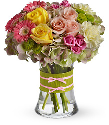 Fashionista Blooms from Brennan's Florist and Fine Gifts in Jersey City