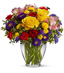 Brighten Your Day from Brennan's Florist and Fine Gifts in Jersey City